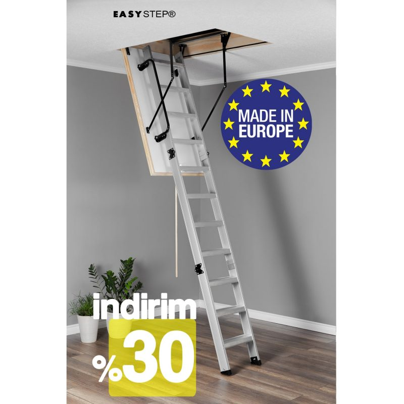Çatı Merdiveni Aluminyum 004 1